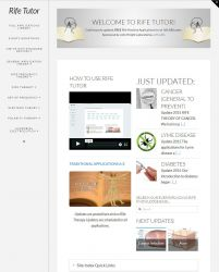 Rife Tutor information website for JWLABS