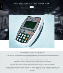 Rife Professional Rife Machine, Version 2 - Pad Device
